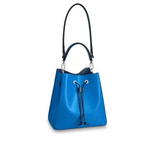 Louis Vuitton NeoNoe MM Epi Leather Bucket Bag M55935 Lazuli/Blue bag
