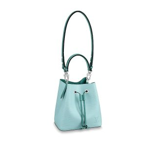 Louis Vuitton NeoNoe BB Epi Leather Bucket Bag M56212 Seaside Blue/Green Bag