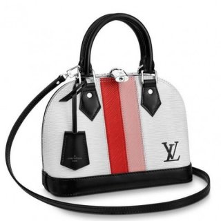 Louis Vuitton Alma BB Bag Epi Leather Stripes M51963 bag