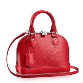 Louis Vuitton Alma BB Bag In Red Epi Leather M40850 bag