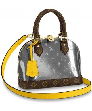 Louis Vuitton Alma BB M44389 Silver Gray