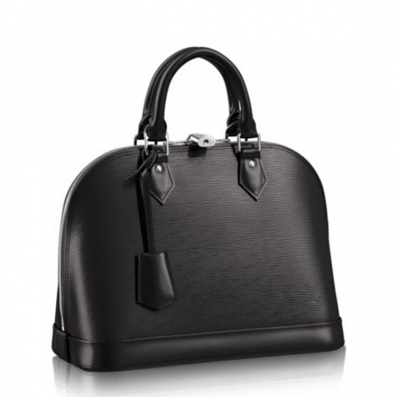 Louis Vuitton Alma PM Bag In Black Epi Leather M40302 bag