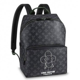 Louis Vuitton Apollo Backpack Vivienne Monogram Eclipse M43675 bag
