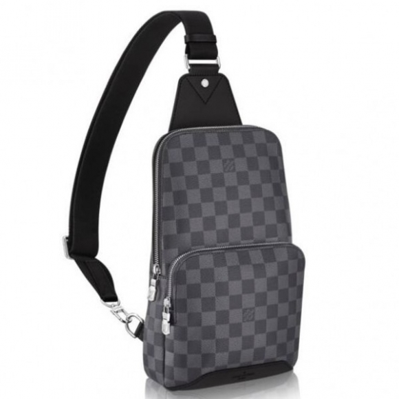 Louis Vuitton Avenue Sling Bag Damier Graphite N41719 bag