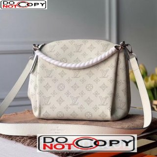 Louis Vuitton Babylone BB Chain Bag in Perforate Calfskin M51767 White bag