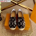 Louis Vuitton Bidart Espadrilles in Black Monogram Tapestry Denim (For Women and Men)