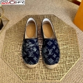 Louis Vuitton Bidart Espadrilles in Blue Monogram Tapestry Denim (For Women and Men)