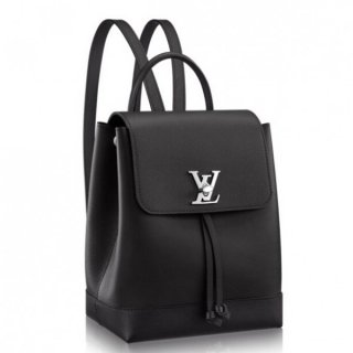Louis Vuitton Black Lockme Backpack M41815 bag