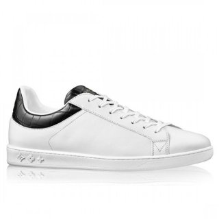 Louis Vuitton Black Luxembourg Sneaker