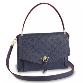 Louis Vuitton Blue Blanche Bag Monogram Empreinte M43616 bag