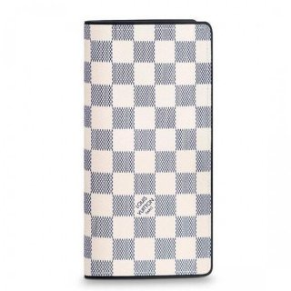 Louis Vuitton Brazza Wallet Damier Coastline N63506