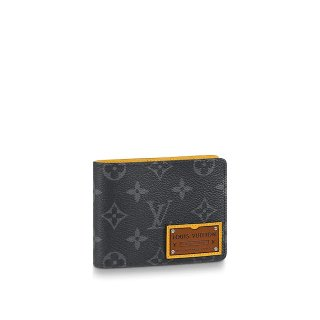 Louis Vuitton Brazza Wallet in Monogram Eclipse Coated Canvas M69253 Black Bag