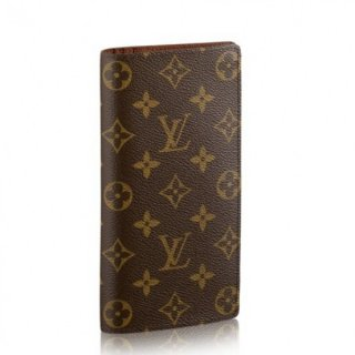 Louis Vuitton Brazza Wallet Monogram Canvas M66540 bag