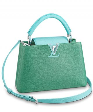 Louis Vuitton Capucines BB M53677 Green bag