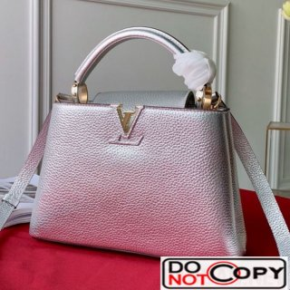 Louis Vuitton Capucines BB Top Handle Bag M90472 Silver bag