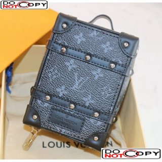 Louis Vuitton Charm and Key Holder Black