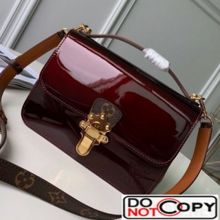 Louis Vuitton Cherrywood BB in Monogarm Canvas and Burgundy Patent Leather M51953