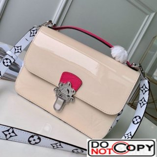 Louis Vuitton Cherrywood BB in Monogarm Canvas and Cream White Patent Leather M51953 bag