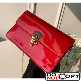 Louis Vuitton Cherrywood WOC Chain Wallet M63306 Red bag