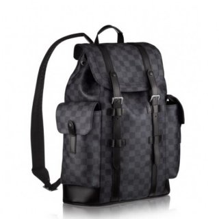 Louis Vuitton Christopher PM Backpack Damier Graphite N41379 bag