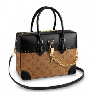 Louis Vuitton City Malle MM Bag Monogram Reverse M43595 bag