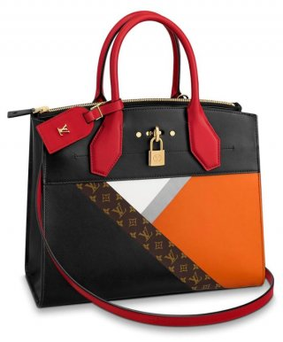 Louis Vuitton City Steamer MM M53803 Black bag