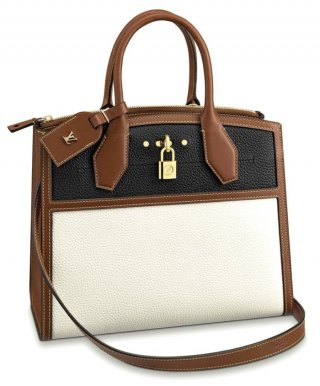 Louis Vuitton City Steamer MM M55062 Cream bag