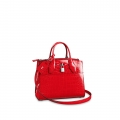 Louis Vuitton City Steamer PM Top Handle Bag in Glossy Crocodile Leather N93548 Red bag