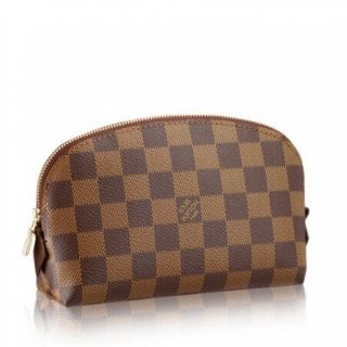 Louis Vuitton Cosmetic Pouch Damier Ebene N47516