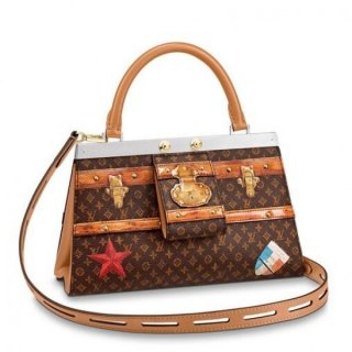 Louis Vuitton Crown Frame Bag Monogram M43946 bag