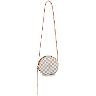 Louis Vuitton Damier Azur BOiTE CHAPEAU SOUPLE Small Bag N40333 White bag