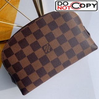 Louis Vuitton Damier Ebene Canvas Cosmetic Pouch N47516 Coffee