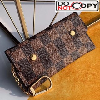 Louis Vuitton Damier Ebene Canvas Key Holder and Coin Purse M60029