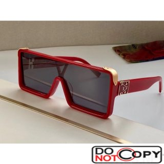 Louis Vuitton Dayton Square Mask Sunglasses 01