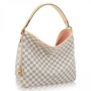 Louis Vuitton Delightful MM Bag Damier Azur N41607 bag