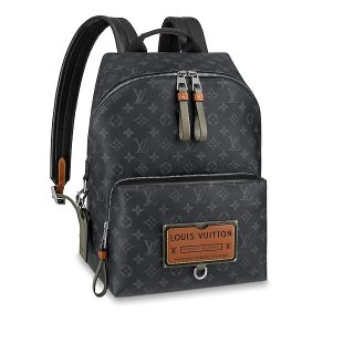 Louis Vuitton DISCOVERY Backpack In Monogram Eclipse Canvas M45218 Black Bag