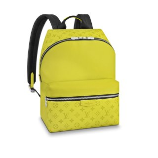 Louis Vuitton Discovery Monogram Leather Backpack PM M30228 Yellow bag