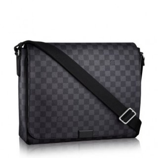 Louis Vuitton District MM Bag Damier Graphite N41272