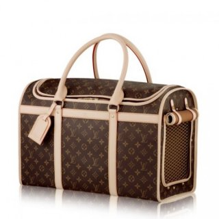 Louis Vuitton Dog Carrier 50 Monogram Canvas M42021