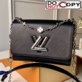 Louis Vuitton Epi Leather Flower Twist MM M55411 Black bag