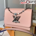 Louis Vuitton Epi Leather Flower Twist MM M55411 Pink bag
