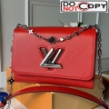 Louis Vuitton Epi Leather Flower Twist MM M55411 Red bag