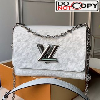 Louis Vuitton Epi Leather Flower Twist MM M55411 White bag
