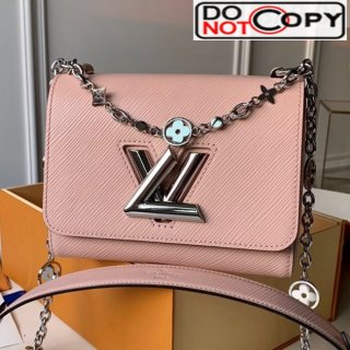 Louis Vuitton Epi Leather Flower Twist PM M55531 Pink bag