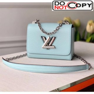 Louis Vuitton Epi Leather Twist Mini Bag M56117 Light Blue bag
