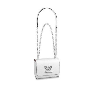 Louis Vuitton Epi Leather Twist Mini Bag M56118 White bag