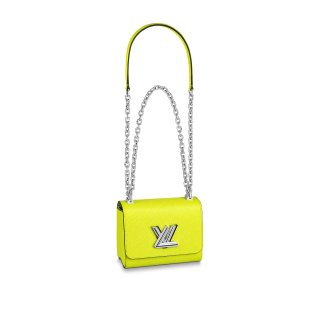 Louis Vuitton Epi Leather Twist Mini Bag M56119 Yellow bag