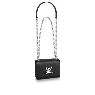 Louis Vuitton Epi Leather Twist Mini Bag M5617 Black bag