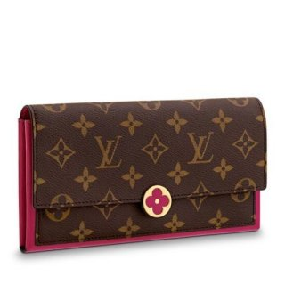 Louis Vuitton Flore Wallet Monogram Canvas M64585 bag