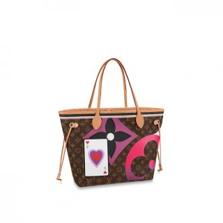 Louis Vuitton Game On Neverfull MM Tote Bag in Monogram Canvas M57452 Bag